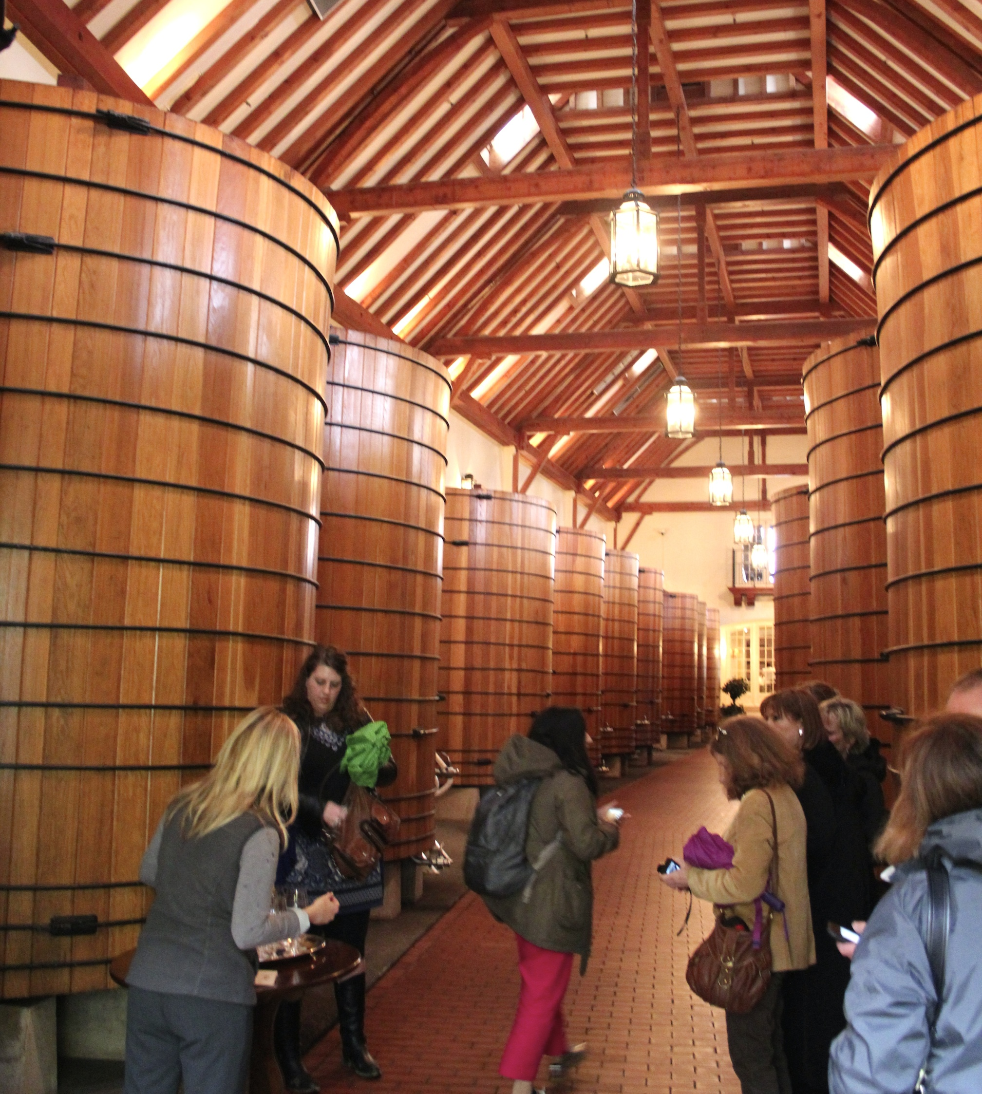 Jordan Winery cellars