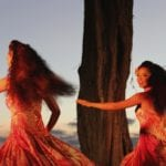 Dancers capture essence of old Hawaii at Mauna Kea Resort's luau. Photo Credit: Tom Wilmer