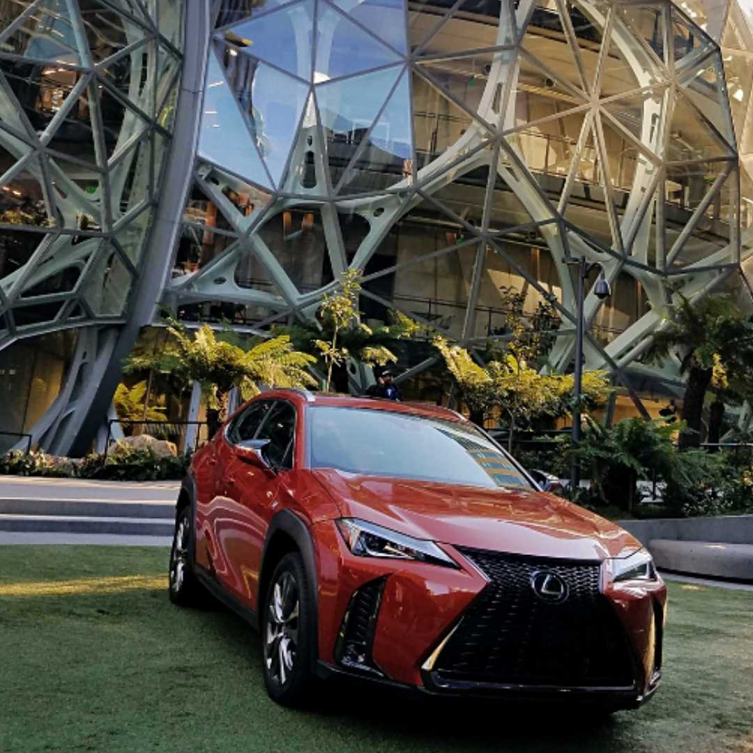 Lexus UX, Vaughn Lowery, 360 MAGAZINE, Amazon headquarters, Seattle