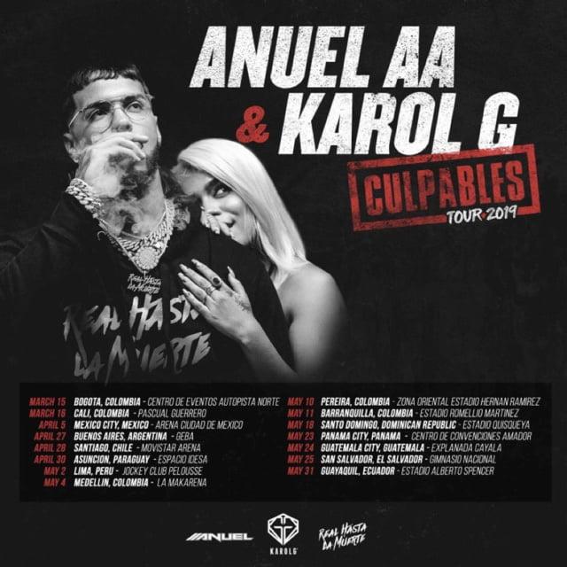 Anuel AA, Karol G., 360 Magazine