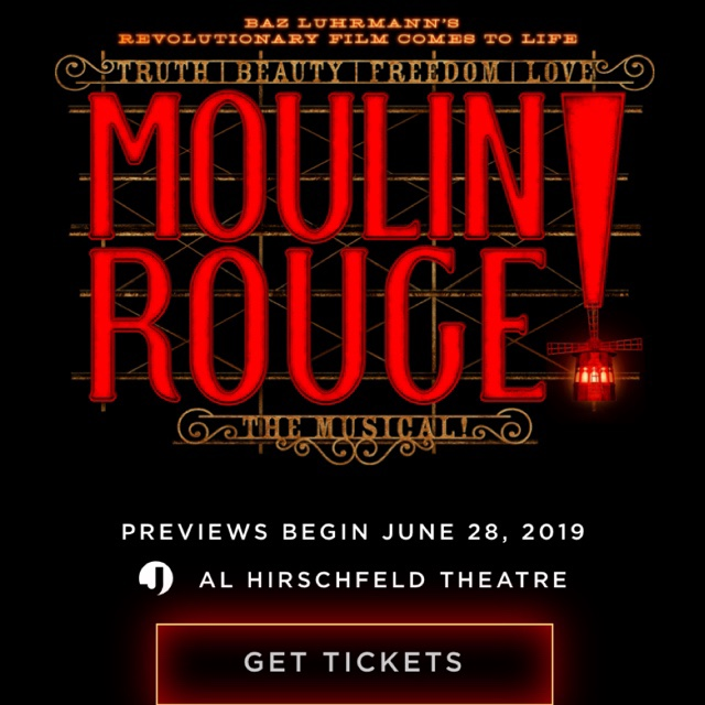 new block of tickets now on sale through february 2  2020 moulin rouge  the musical