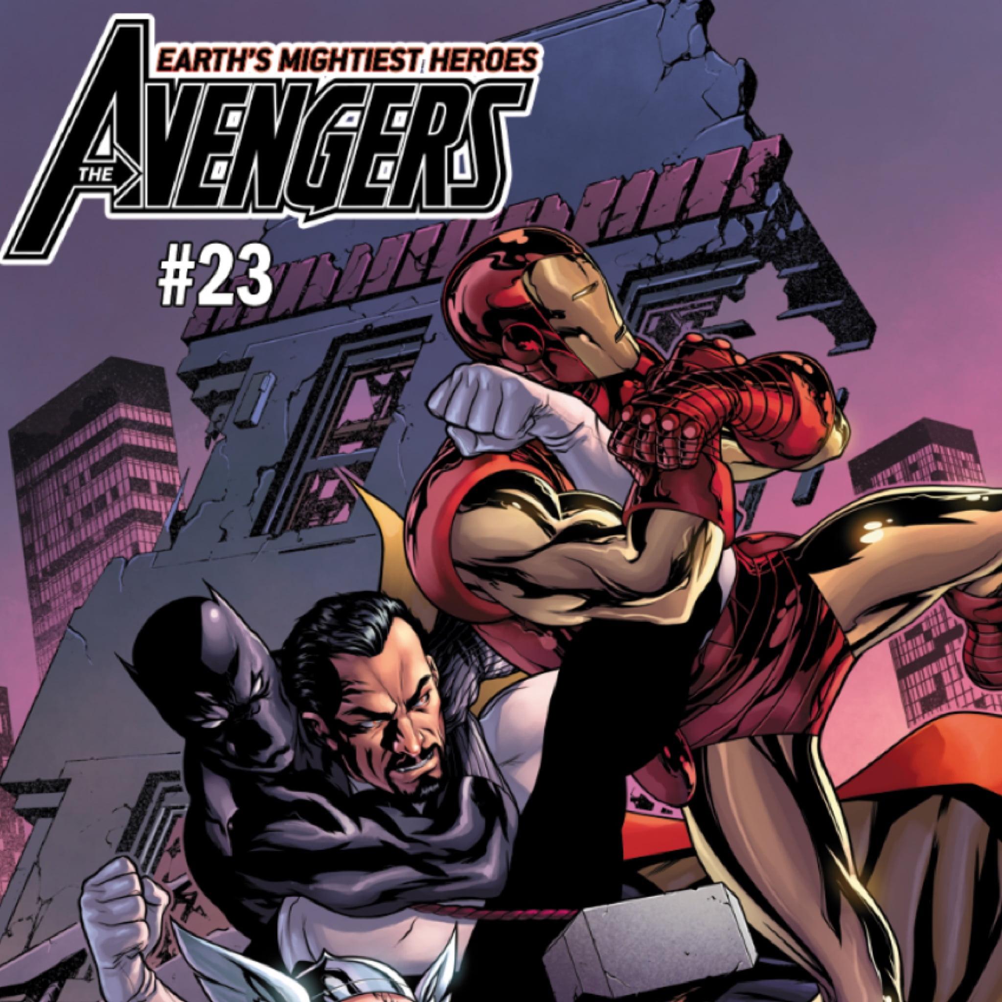 Vaughn Lowery, Marvel, Avengers, 360 mag, 360