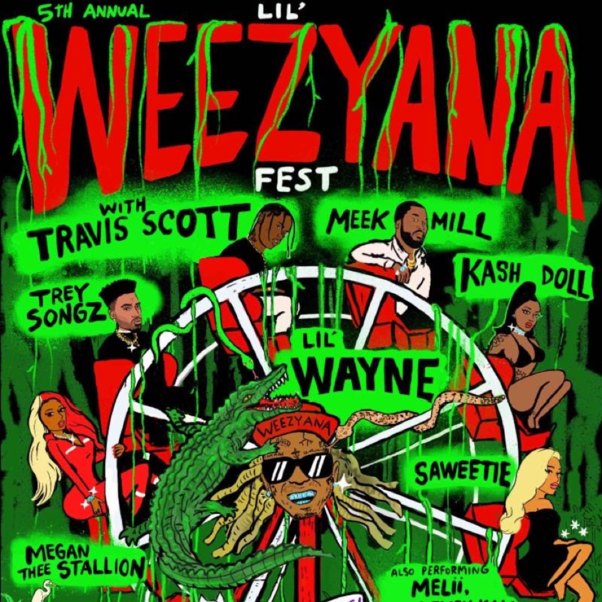 Vaughn Lowery, weezyana, Lil Wayne, 360, 360 magazine, travis Scott, saweetie, meek mill