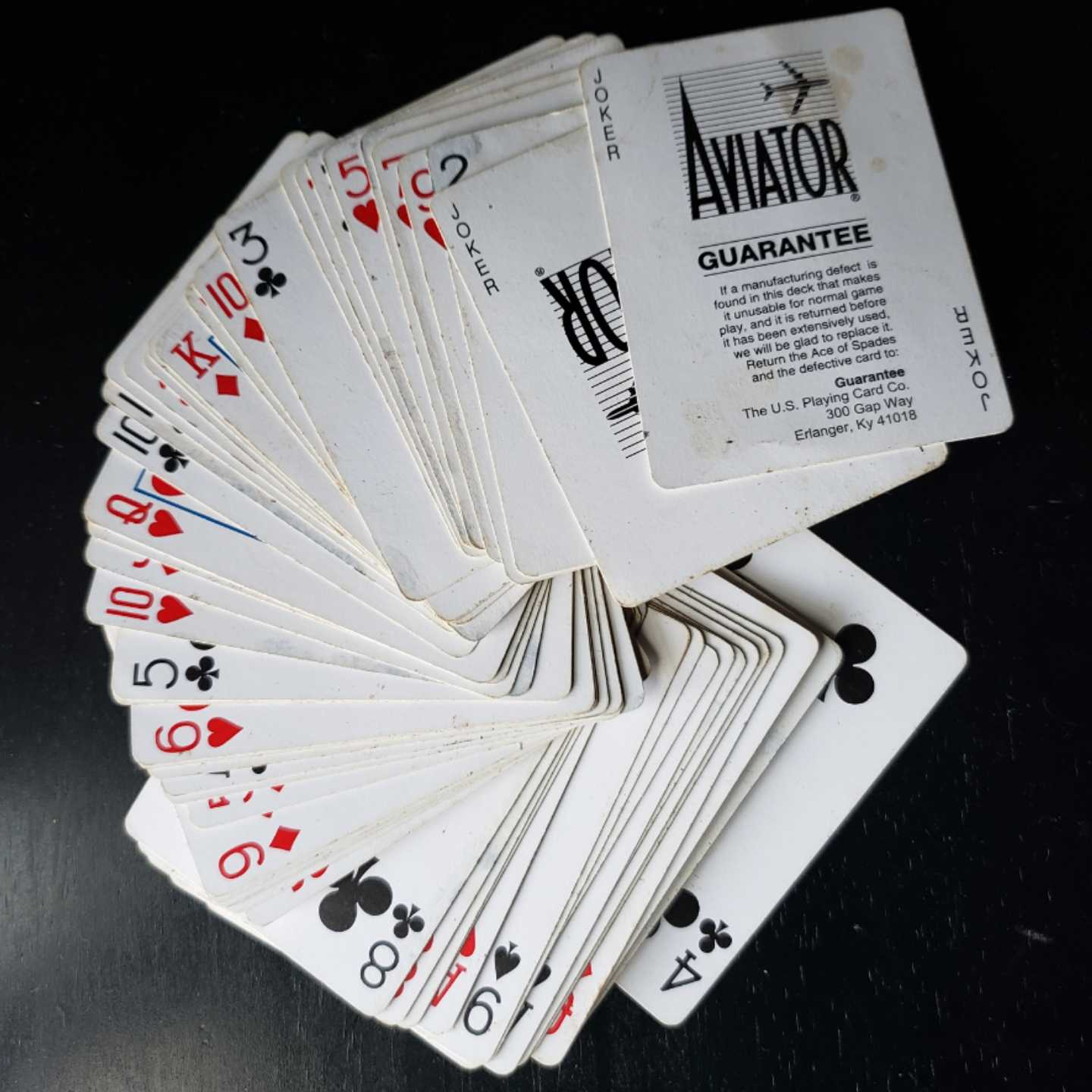 360 MAGAZINE, playing cards, Vaughn Lowery
