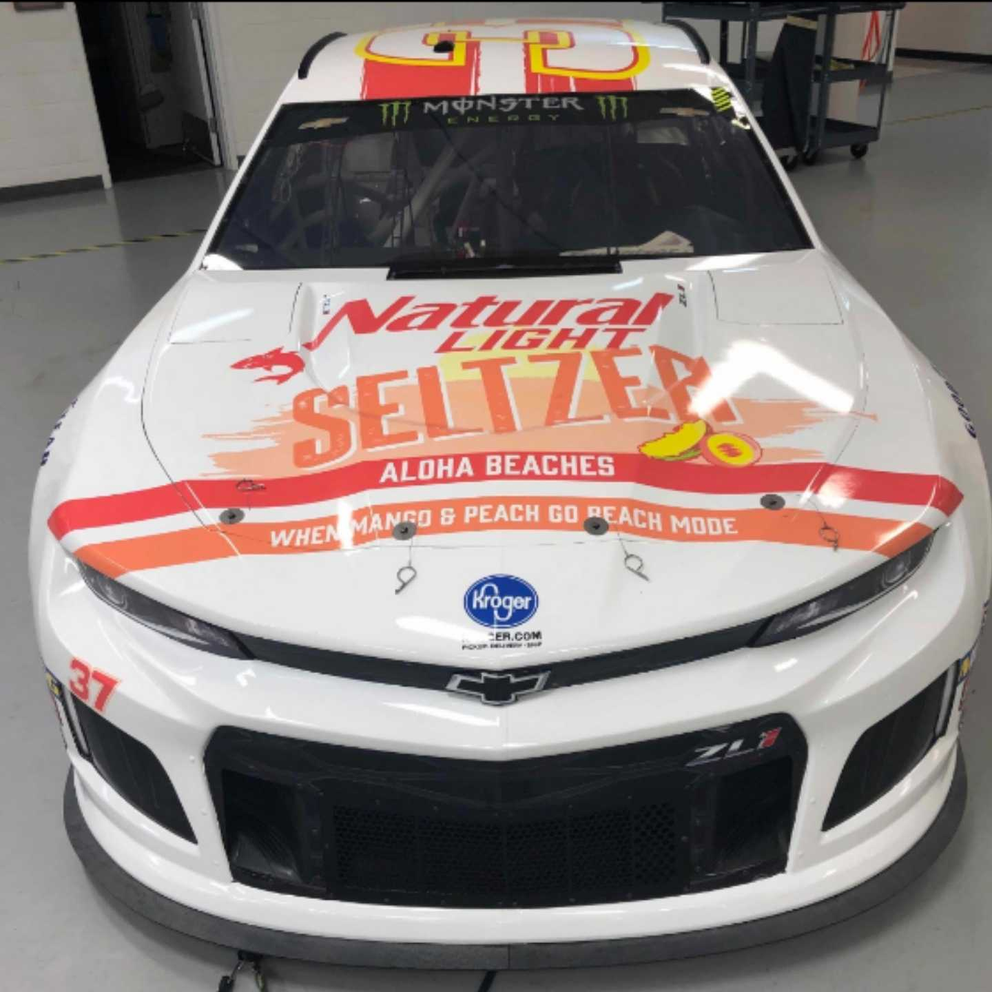 Natural Light Seltzer, Anheuser-Busch, Nascar, 360 MAGAZINE