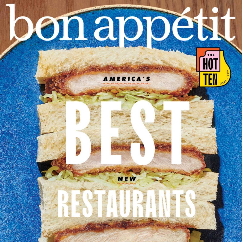 Bon Appétit, Condenast, 360 MAGAZINE, Best New Restaurants