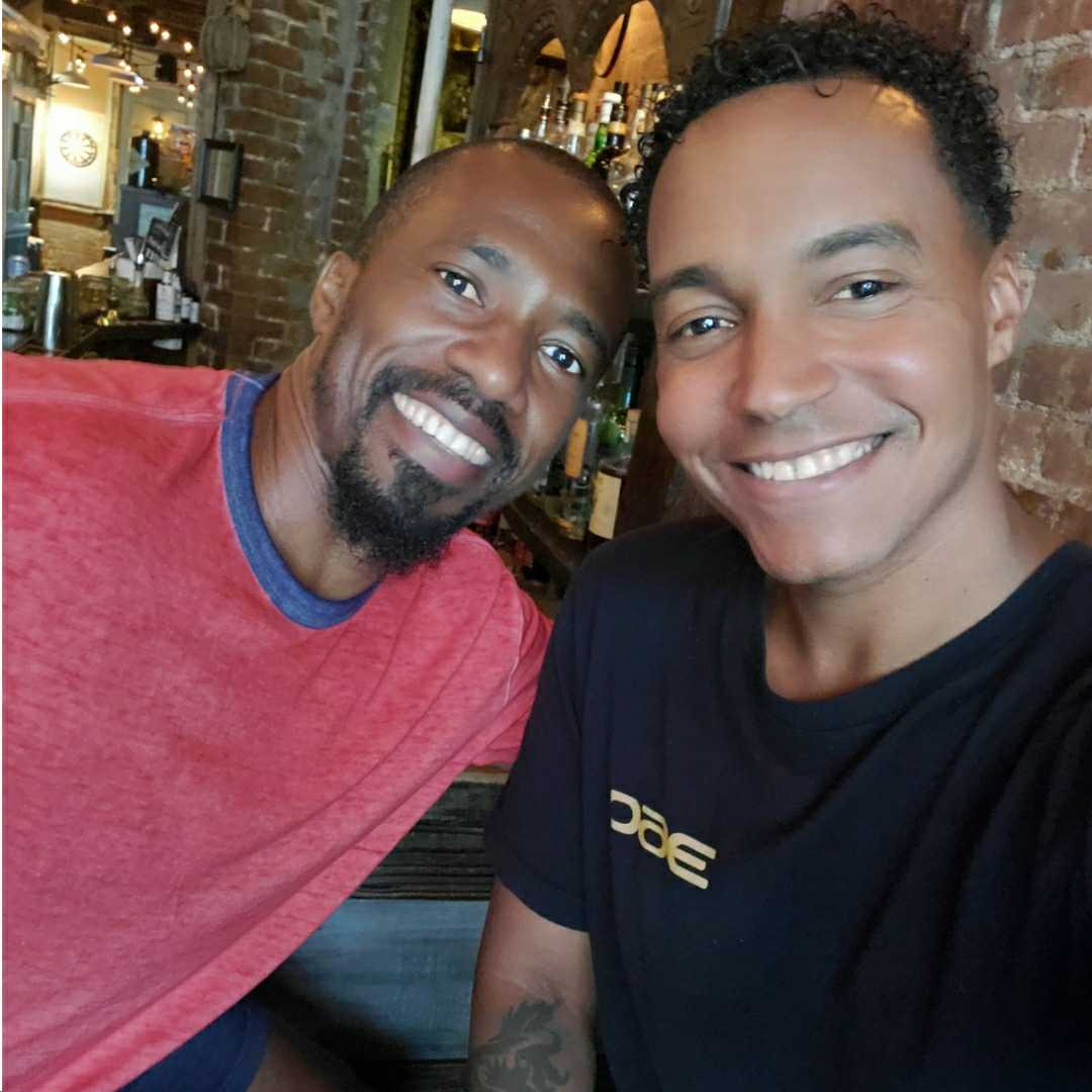Kareem Ferguson, Vaughn Lowery, actor, entertainer, 360 MAGAZINE,, Gay Baby Short Film,WORLD'S 50 BEST BARS
