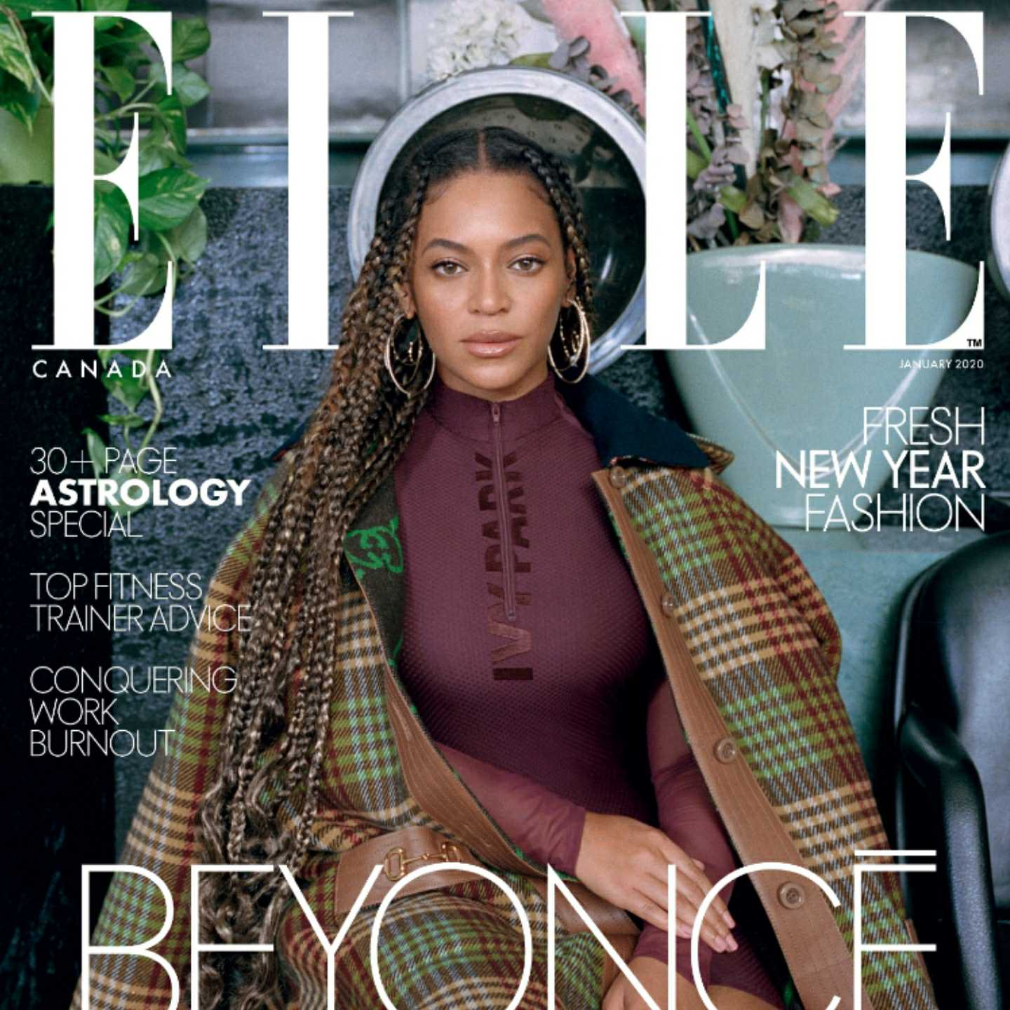 Beyoncé,IVY PARK,KO Média,ELLE Canadae,ELLE network,2020 ELLE International Beauty Awards,Karla Welch,Hollywood,athleisure,activewear,sweats,Adidas,Reebok,Vaughn Lowery,360 MAGAZINE,Elle Canada,Canada, Lagardère Group, ELLE Decoration