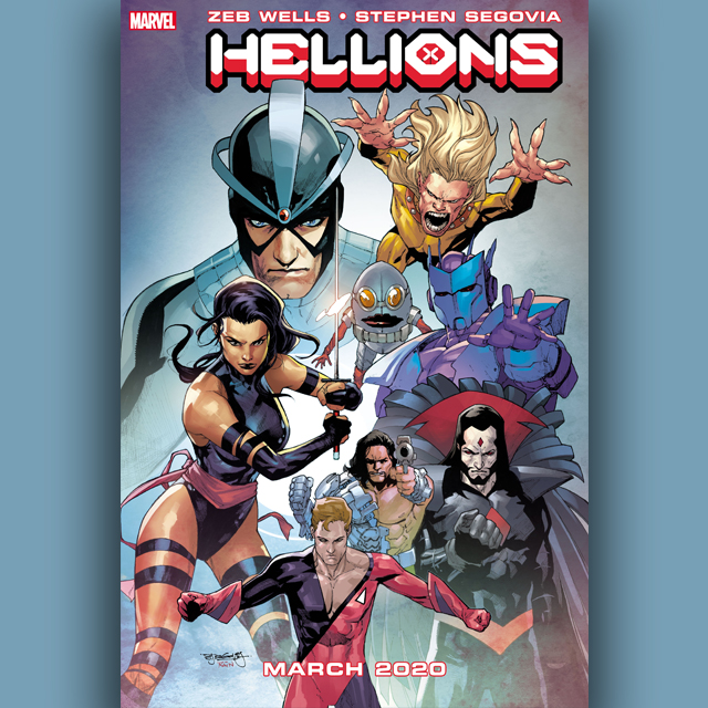 x-men, hellions, 360 magazine