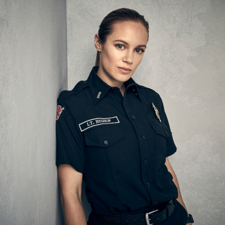 "Danielle Savre , Maya Bishop on ABC's ""Station 19"", ABC, 360 MAGAZINE"