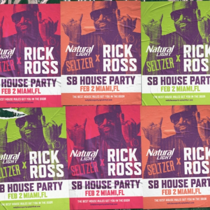 Natural Light, Rick Ross, 360 MAGAZINE, spirits