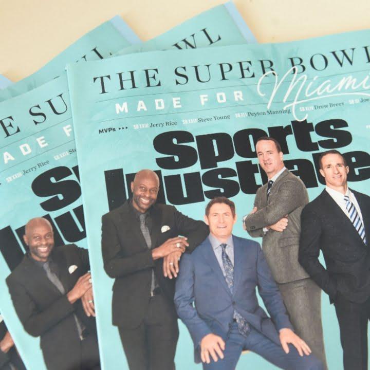 Super Bowl, Sports Illustrated, 360 MAGAZINE
