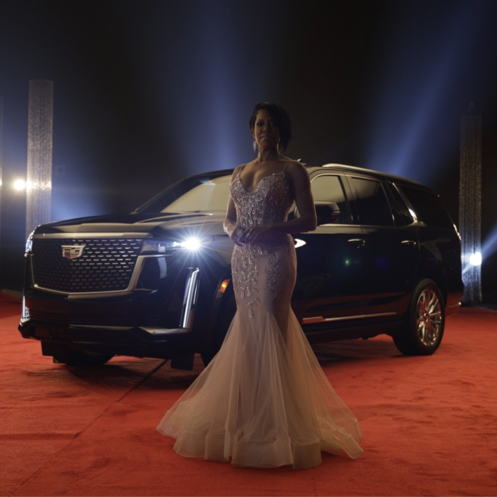 Regina King, Cadillac Escalade, 360 MAGAZINE, General Motors