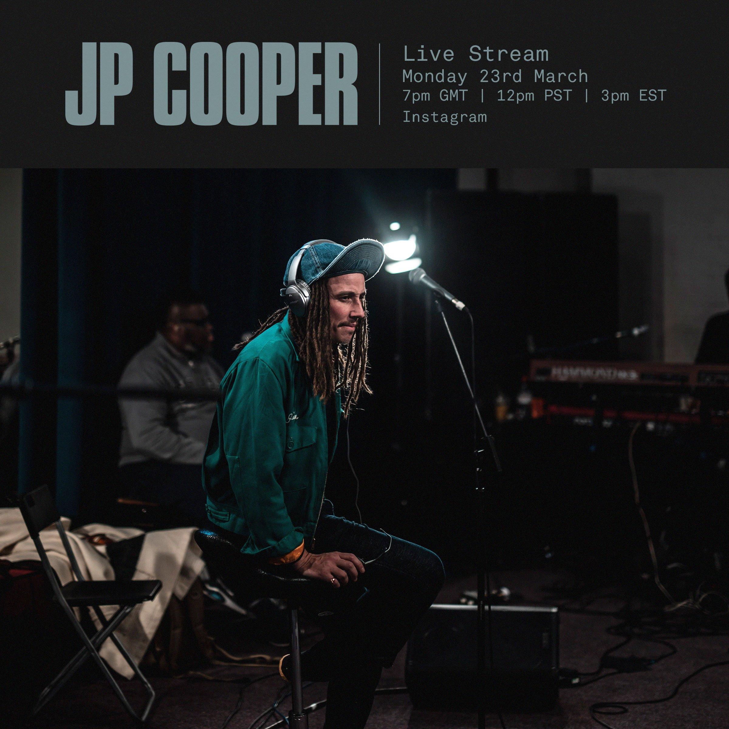 JP Cooper, Live stream, instagram, Covid19, 360 Magazine, Vaughn Lowery