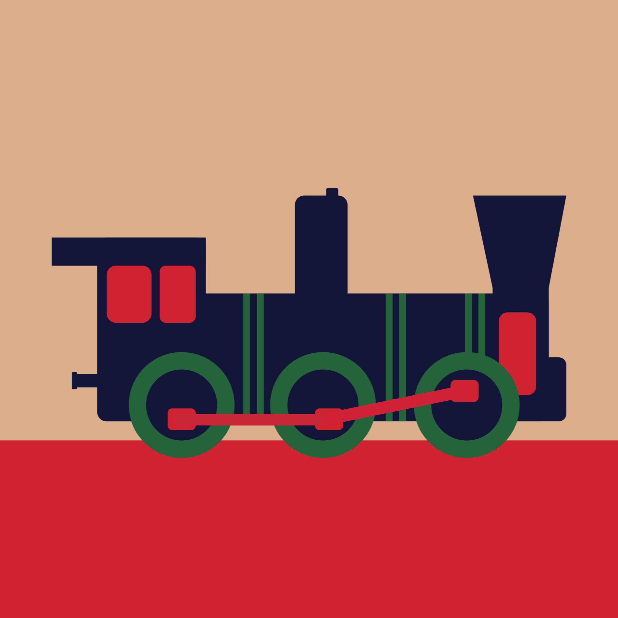 Amtrak, travel, trains, sara sandman, 360 MAGAZINE, illustration