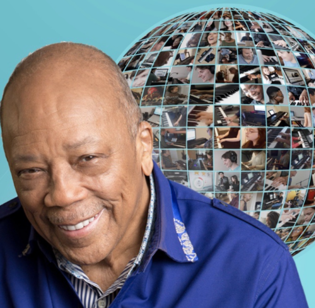 360 Magazine, Playground Sessions, Quincy Jones, Online Piano Course