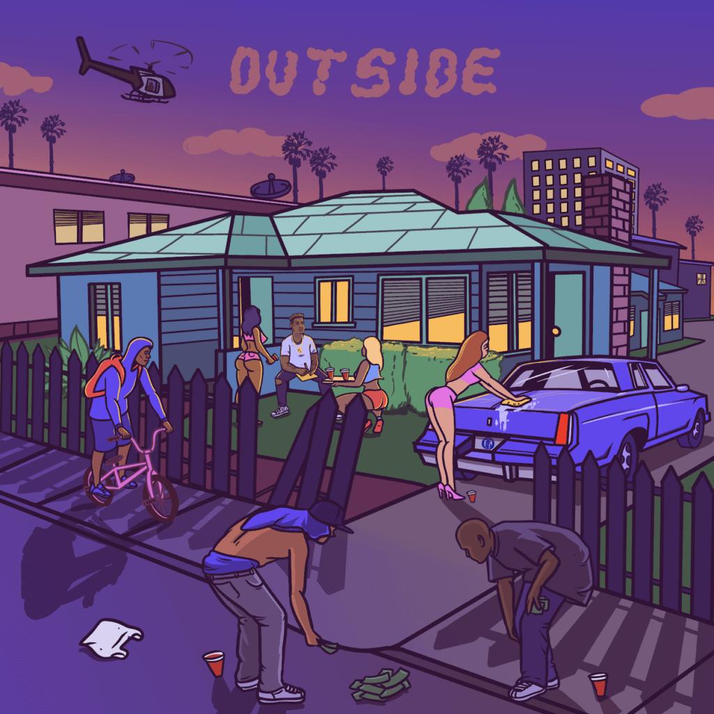 "360 Magazine, Bio Rideaux, ""Outside"""