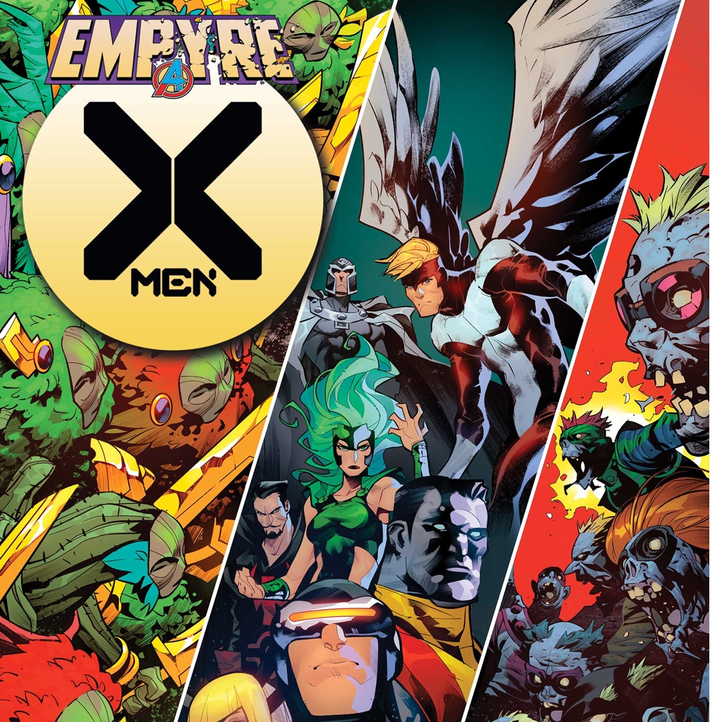 Marvel, superheroes, xmen, empyre, cartoon, comic