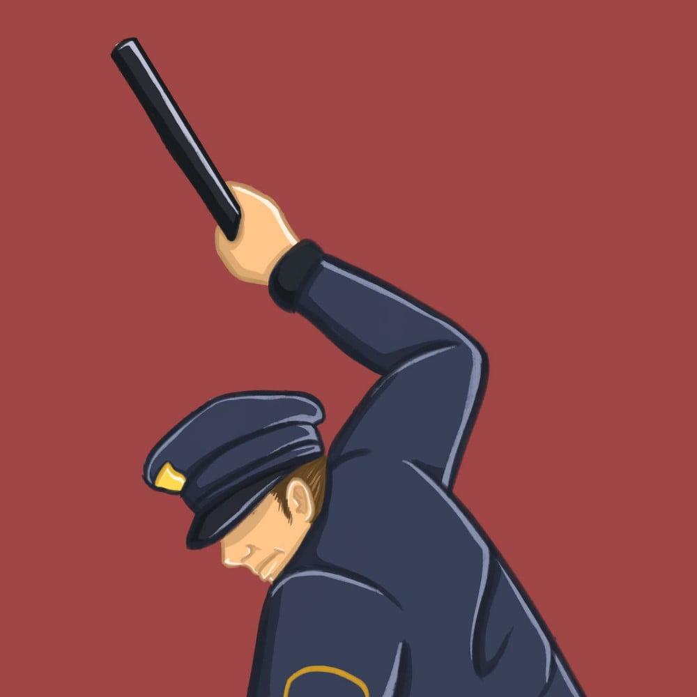 Allison Christensen, police brutality, illustrations, 360 MAGAZINE