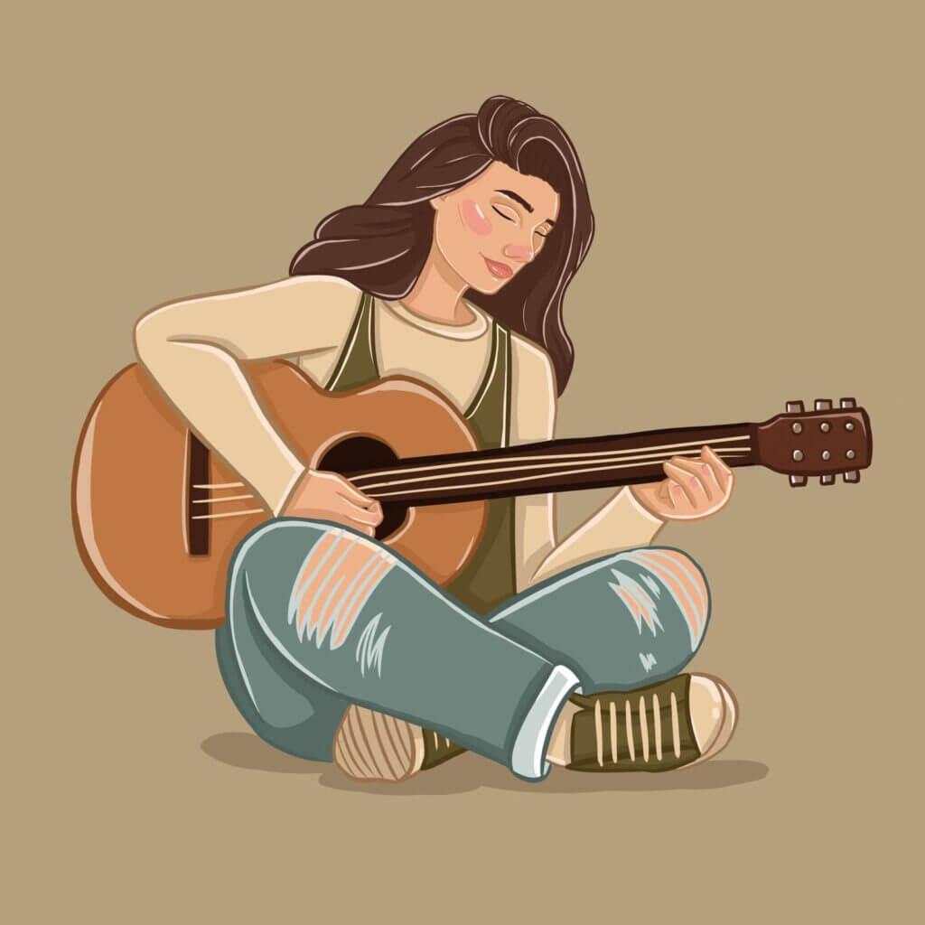 Allison Christensen, 360 MAGAZINE, ILLUSTRATION, MUSIC