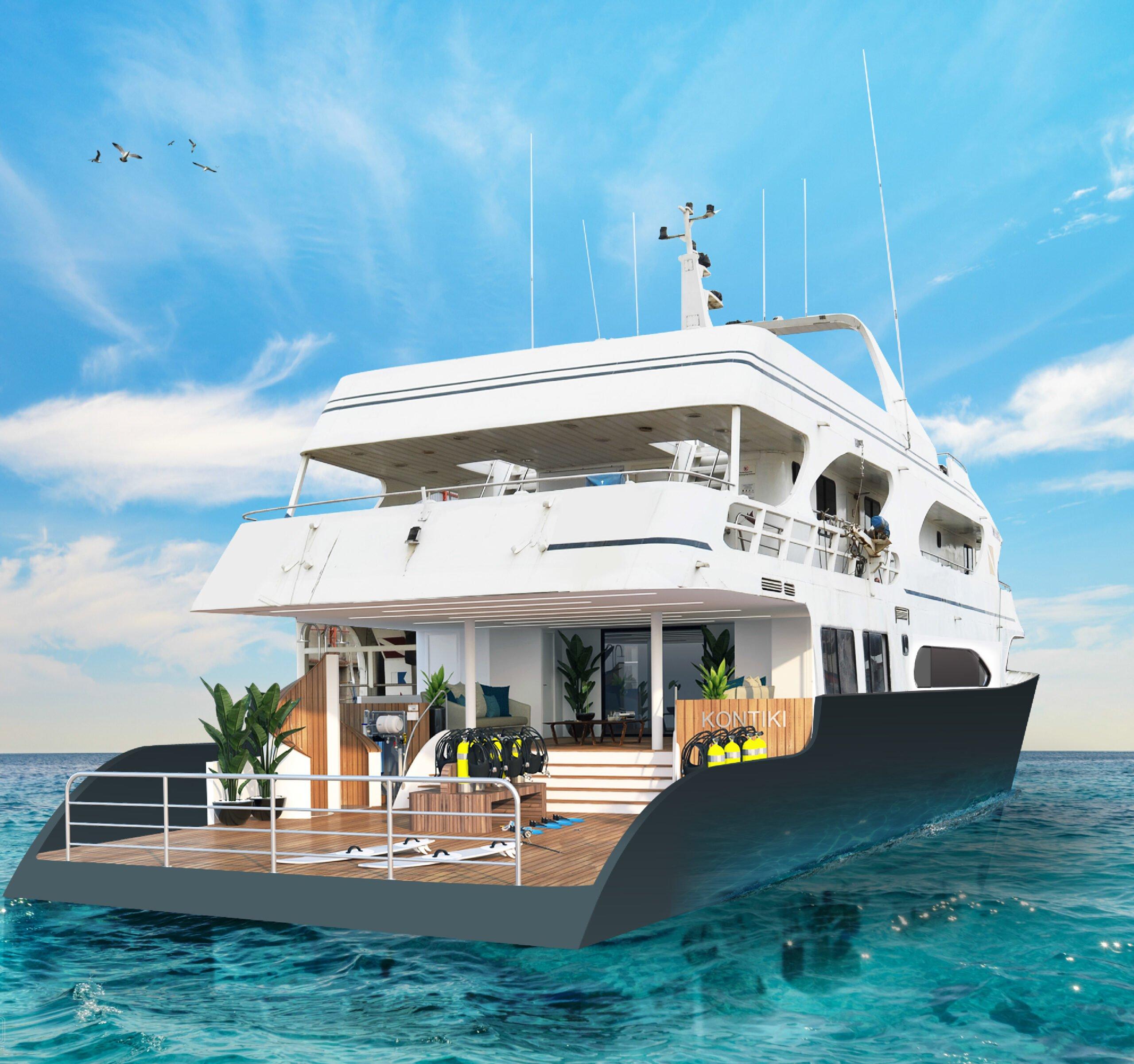 Yacht, Kontiki, 360 Magazine, Vaughn Lowery
