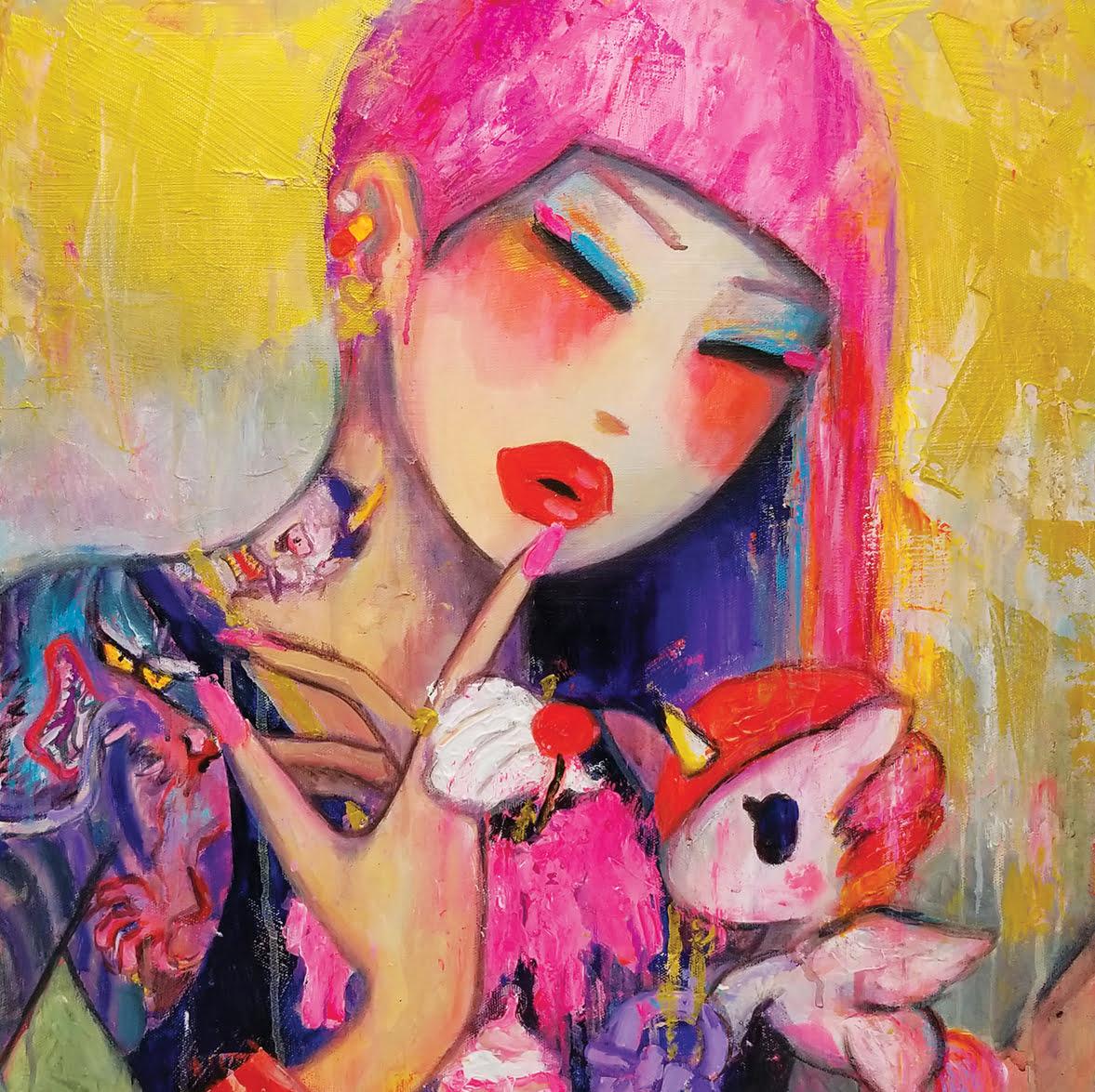 art, Onch, Vaughn Lowery, 360 Magazine