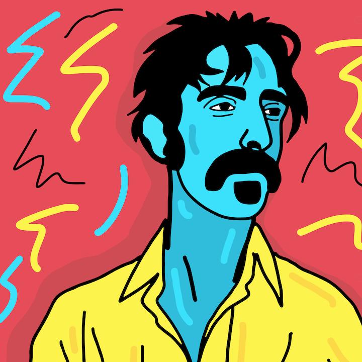 Mina Tocalini, 360 Magazine, Frank Zappa