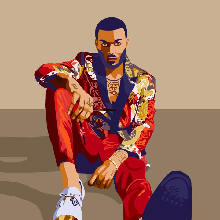 Don Benjamin, 360 MAGAZINE, antm, tyra banks, illustration, top model, Emily Simon