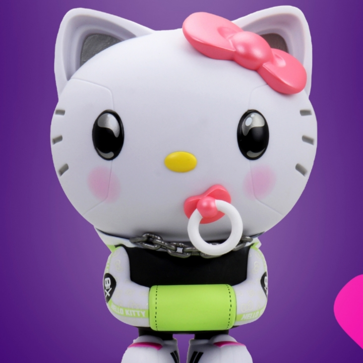 Hello Kitty, 360 MAGAZINE, KIDROBOT