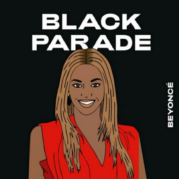 Beyoncé, Juneteenth, Black Parade, 360 MAGAZINE, BLM, rita azar, illustration