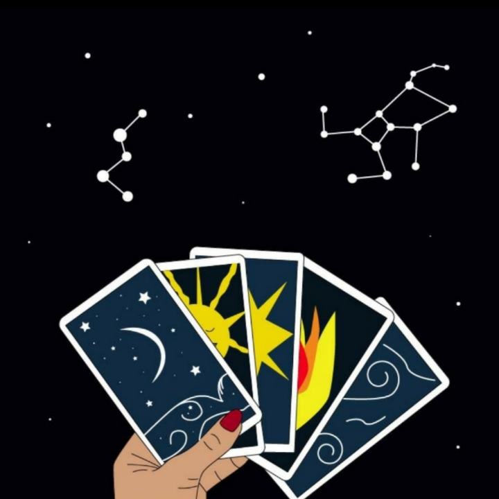 Tarot cards, psychic reading, 360 MAGAZINE, ASTROLOGY, ILLUSTRATIONS, RITA AZAR