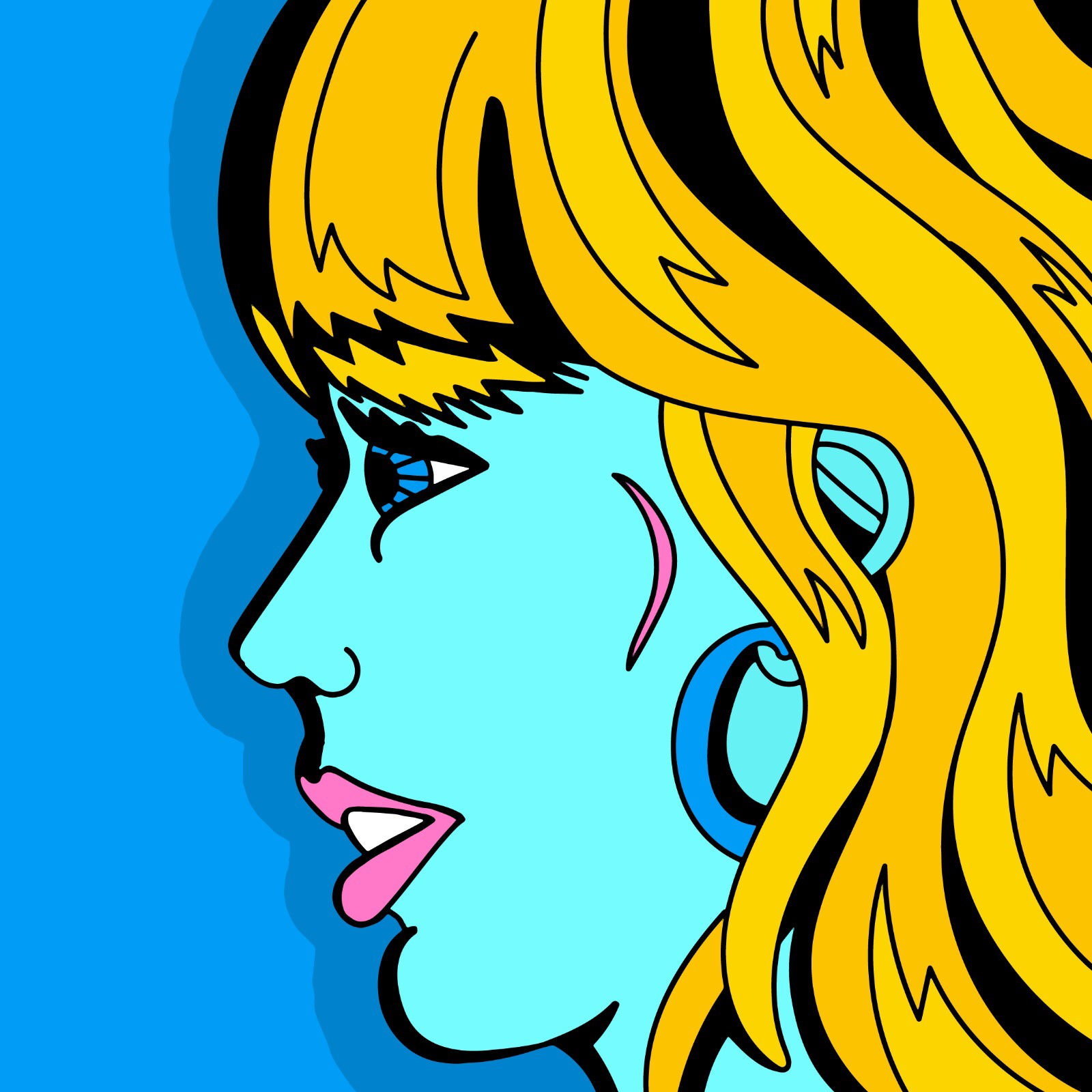 Taylor Swift illustration done by Mina Tocalini of 360 MAGAZINE.
