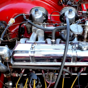 Photo of Triumph TR4 & TR4A engine by Veloce Publishing.