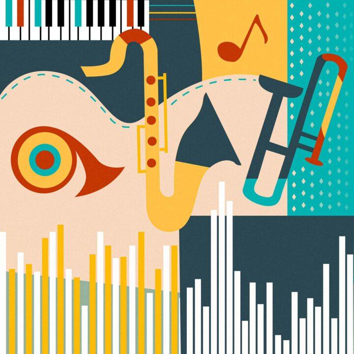 music Ivory Rowen illustration for 360 Magazine.
