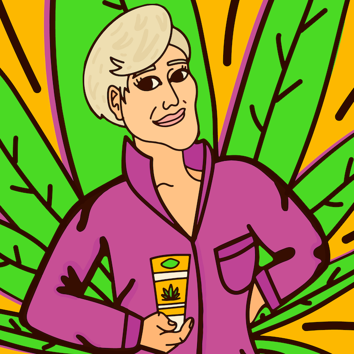 Jane Fonda Uncle Ben's Campaign illustrated by Mina Tocalini for 360 MAGAZINE.