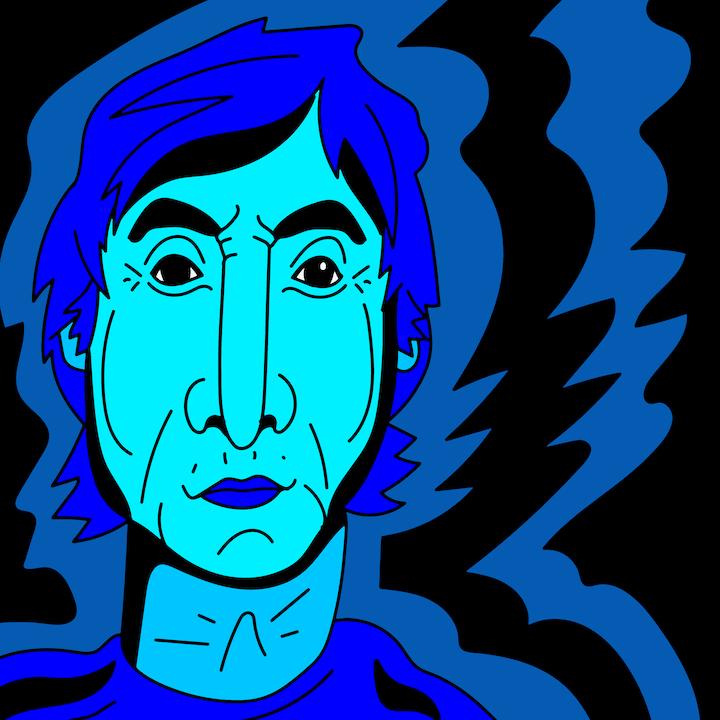 Paul McCartney illustrated by Mina Tocalini for 360 MAGAZINE.