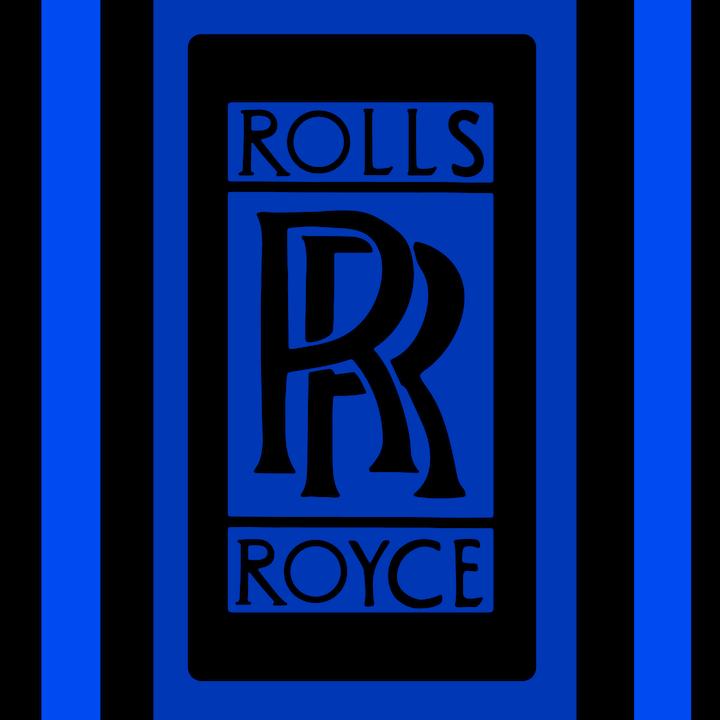 Rolls Royce Logo illustration done by Mina Tocalini of 360 MAGAZINE.