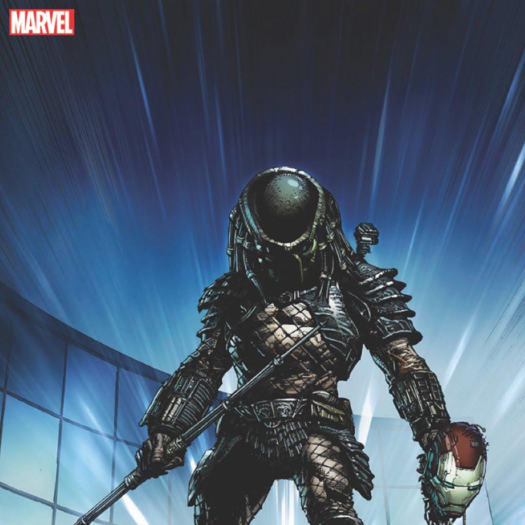 Marvel Alien and Predator visual