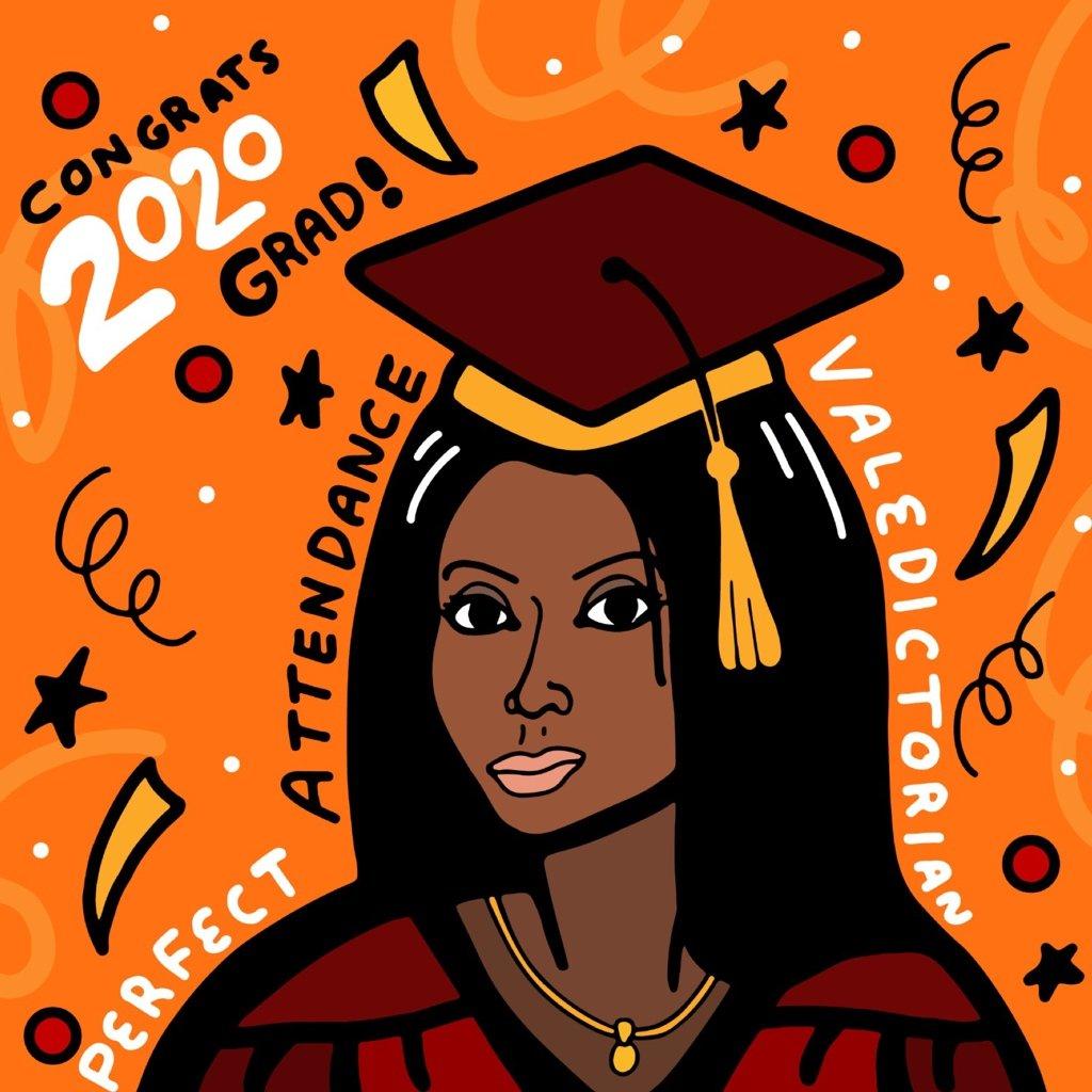 Ashanti Palmer illustration by Mina Tocalini