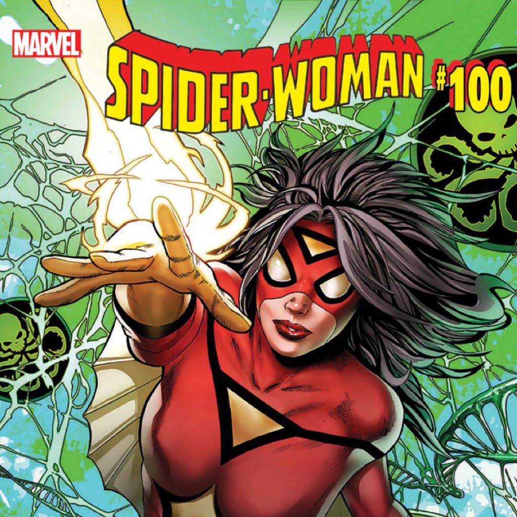 spider-woman strikes again