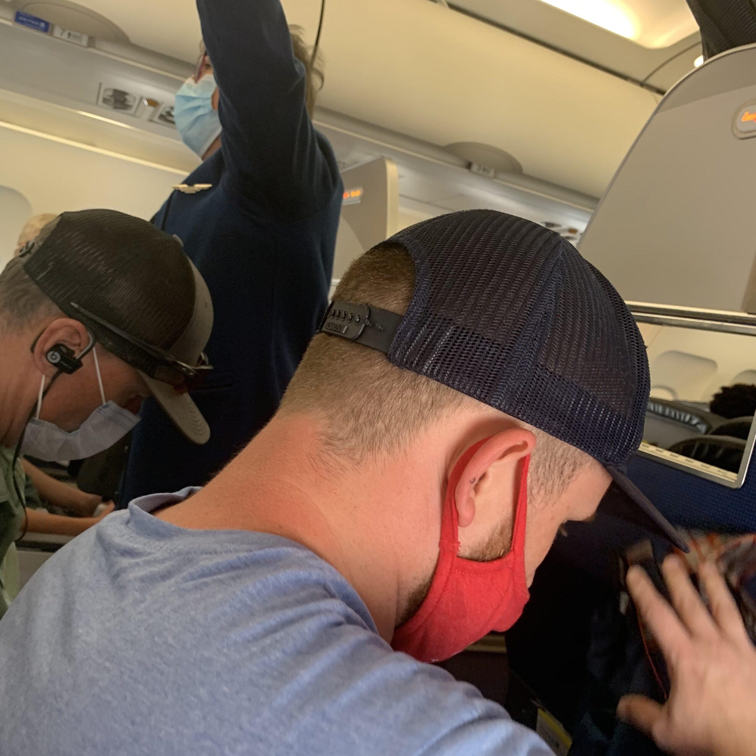 Air Travel COVID Glitches