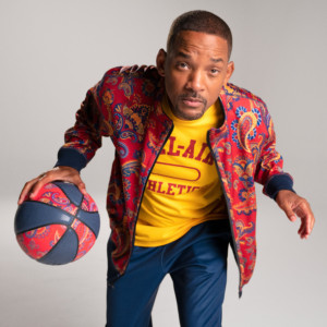 Photo of Will Smith for Bel-Air Athletics.