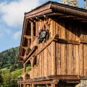 Authentic French Mountain lodge designs at The Refuge de la Traye