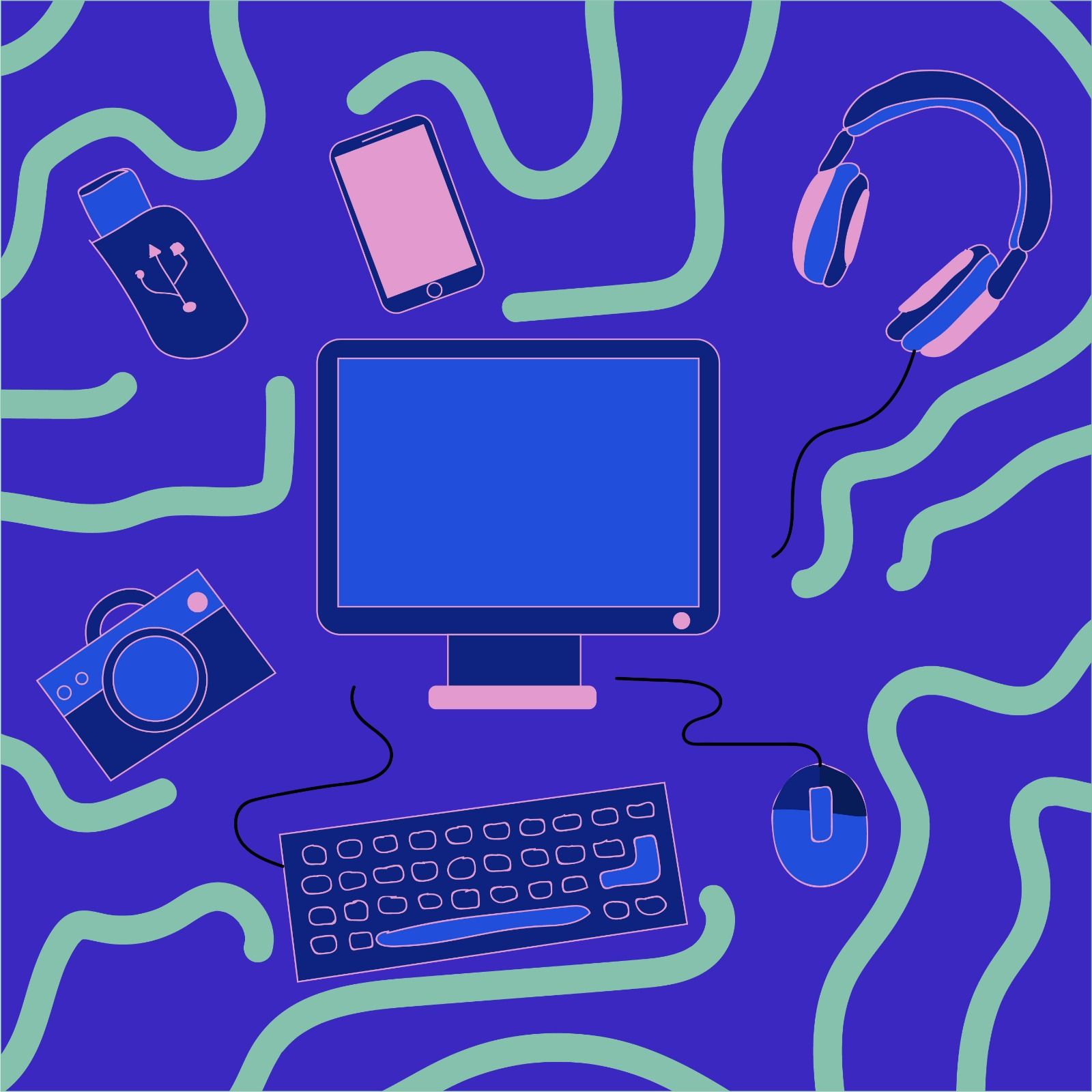 Digital illustration for 360 Magazine