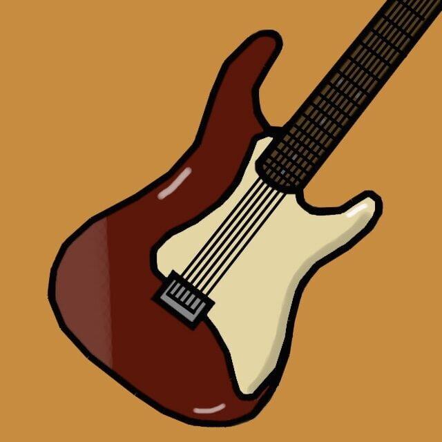 Eamonn Burke illustrates a rock music video article for 360 MAGAZINE