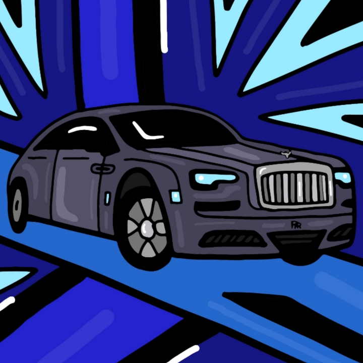 Mina Tocalini illustrates Rolls-Royce for 360 MAGAZINE