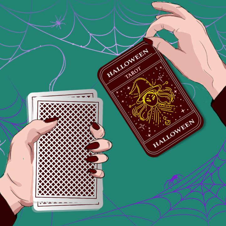 Halloween illustration by Maria Soloman for 360 MAGAZINE.