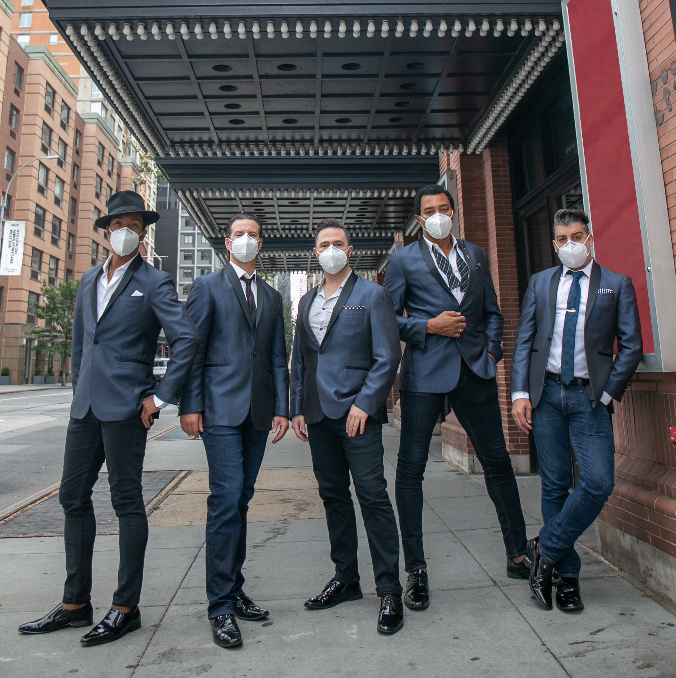 The Doo Wop Project Wearing Masks