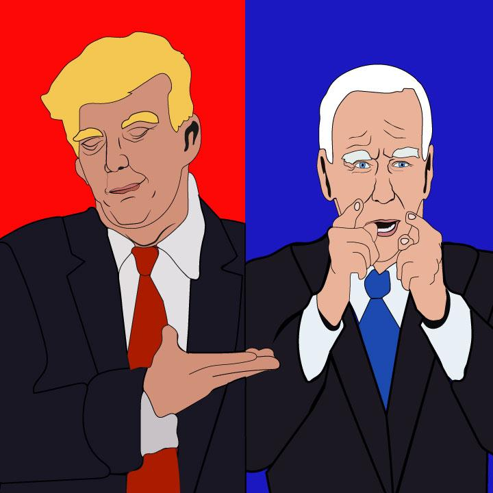 Debate illustration for 360 magazine