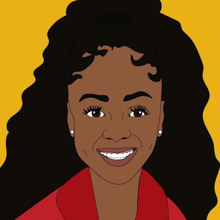 Kaelen Felix Illustrates an Article about Skai Jackson for 360 MAGAZINE